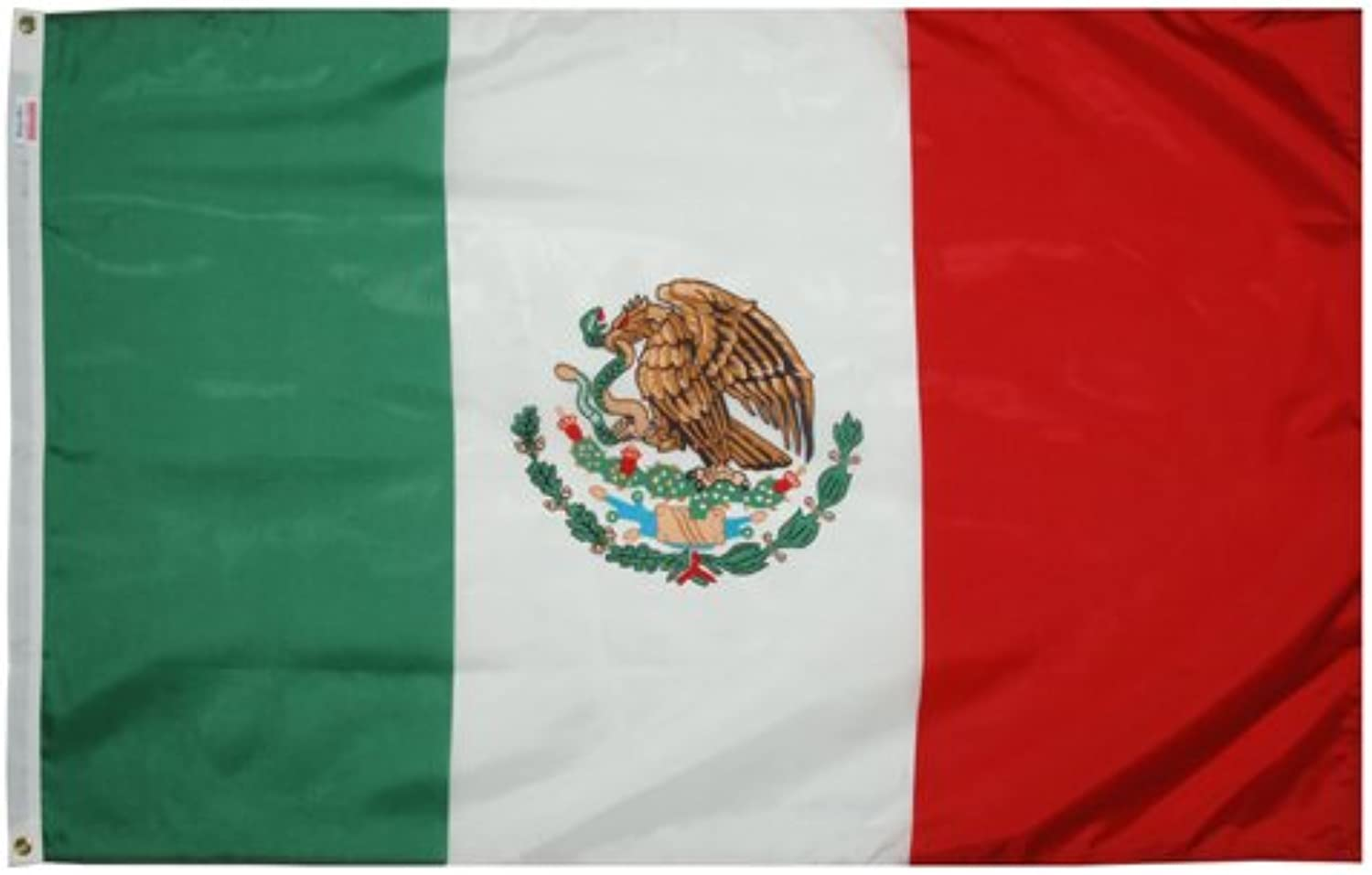 Valley Forge Flag Made in America 3' x 5' Nylon Mexico National Flag