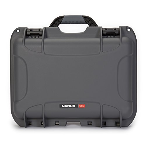 Nanuk 915 Waterproof Hard Case with Padded Dividers - Graphite