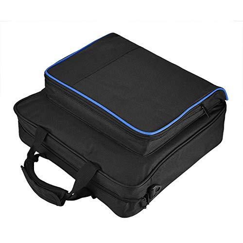 Sac de Transport pour système de Jeu PS4 Pro, Sac à bandoulière étui de Rangement étanche, avec bandoulière réglable