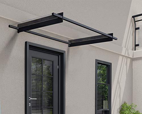 Palram Canopia Nancy 1500 Porch Door Canopy Rain Cover Grey