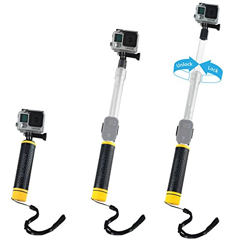 Camkix waterproof telescopic pole