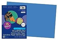Pacon SunWorks Construction Paper 12 x 18 50-Count Blue (7407) [並行輸入品]