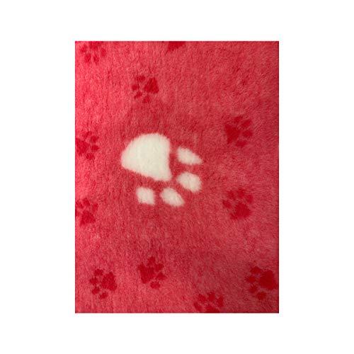 Dry Bed Hundebett Hundedecke Hundematte Anti Rutsch versch. Farben und Größen (75 x 50 cm, Pink)