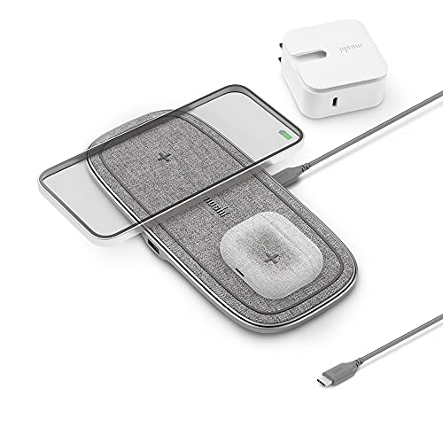 Moshi Otto Q Wireless Charger, Qi-Certified, Soft...