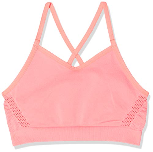 Nike Mädchen G Seamless Dry Sports Bra, pink Gaze, M