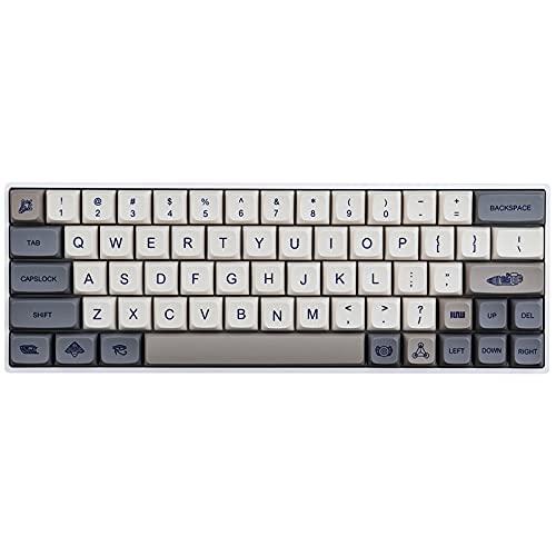 JakeTsai PBT Keycaps XDA-Profil 119 Tasten Dye Sublimation Keyboard Keycaps für Cherry MX Gateron Kailh Switch Mechanische Tastaturtastenkappen