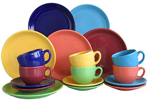 Creatable Kaffeeservice 18 teilig, mehrfarbig, Einheiten