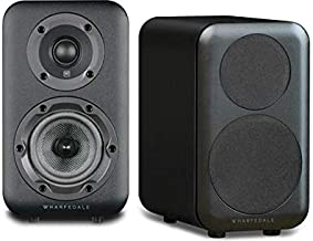 Wharfedale D310 Bookshelf Speaker (Black) - Pair