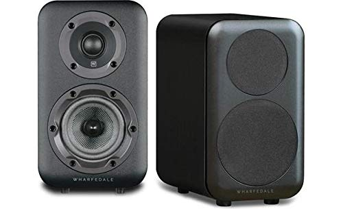 Review Wharfedale D310 Bookshelf Speaker (Black) - Pair