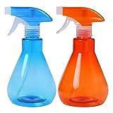 Atlnso - 2 botellas pulverizadoras de 500 ml para plantas, pulverizador de plástico para rellenar plantas en maceta, jardinería y limpieza