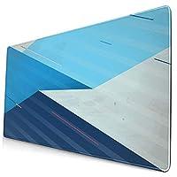 KIMDFACE 大型 マウスパッド 抽象的な方法で表現されたさまざまな幾何学的形状と線 個性的 おしゃれ 柔軟 かわいい ゲーミングマウスパッド PC ノートパソコン オフィス用 デスクマット 滑り止め 特大 マウスマット