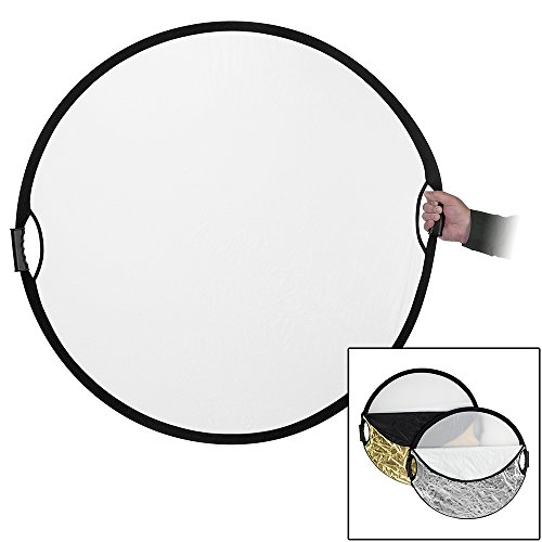 Fotodiox Pro 5-in-1 Reflector with Easy Hold...