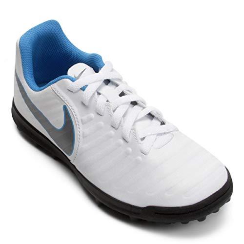 Nike Tiempo Legend X 7 Club TF AH7248 107, Botas de Fútbol Unisex Adulto, Mehrfarbig (Indigo 001), 40 EU
