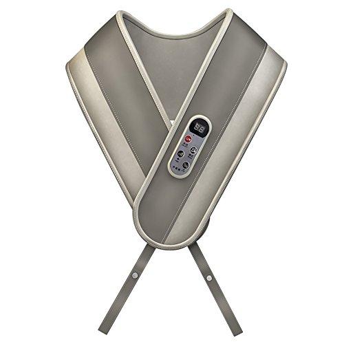 Masajeador eléctrico - Masajeador de hombros y cuello Vesita cervical multifunción Atrás...