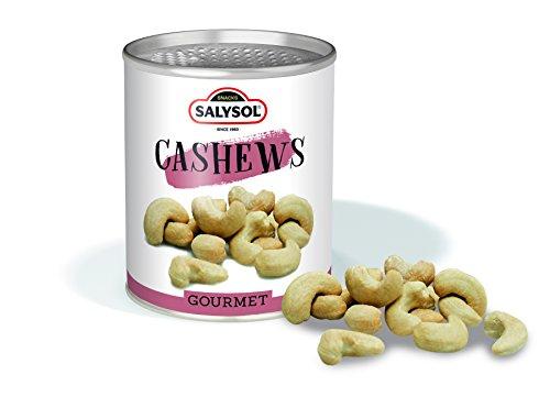 Frutos secos en lata Salysol Gourmet - Anacardos 50 g (PACK 10 UNIDADES)