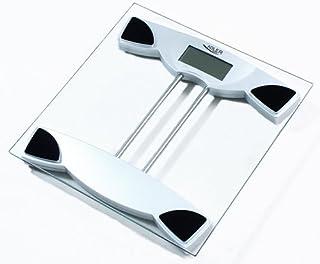 ADLER AD-8124 Báscula de Baño Digital, Profesional, 150 Kg, Vidrio Templado, Alta precisión, Apagado Automático
