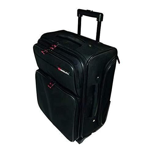 Monolith Wheeled Overnight Laptop Case w/Removable Case Black 1329