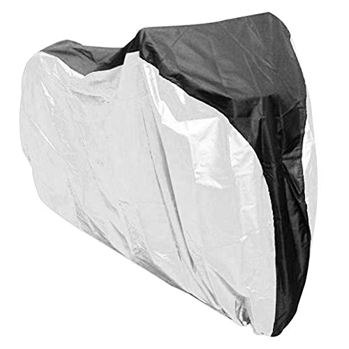 Screst Cubierta De La Bici, 190t De Nylon Impermeable a Prueba De Polvo Cubierta De Protección UV De Bicicletas para El Almacenamiento Al Aire Libre De Interior 2 Montaña, Bicicletas De