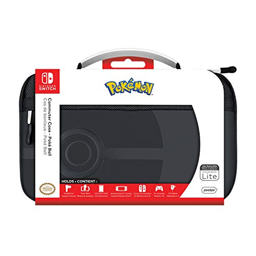 PDP Nintendo Switch Pokemon Pokeball Commuter Case Compatible with Switch and Switch Lite, 500-166