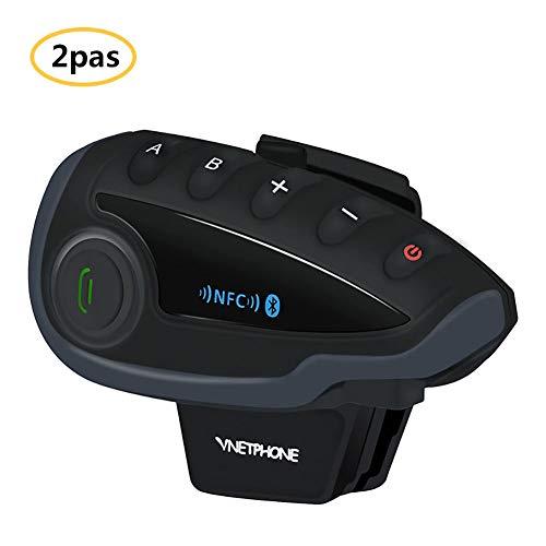 For Sale! V8 Motorcycle Bluetooth Headset, IP5 Waterproof Helmet Interphone 1200M Walkie Talkie GPS ...