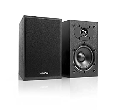 Denon 2-Way Speaker System for D-M41/D-M41DAB HiFi System - Black by Denon