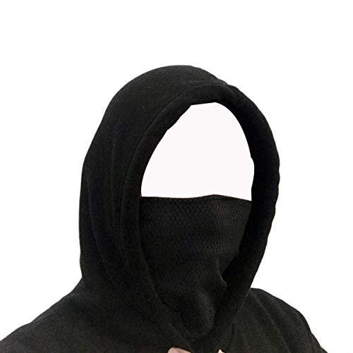 Nedal Unisex Adult/Kids Half Face Mask Seamless Face Tube Neck Warmer Balaclava