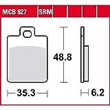 Pastiglie freno TRW organiche per scooter, Offroad LX 50 C383-4 tempi 2 V 09 – 13 anteriore