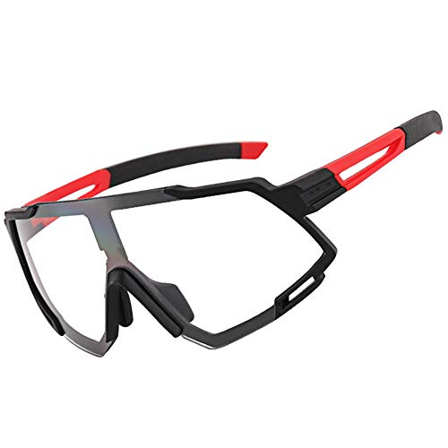 Hombre Mujer Gafas Sol Fotocromáticas Protección UV400 Anti Azul para Interiores Exteriores Ordenador Lectura Ciclismo Deportes Aire Libre