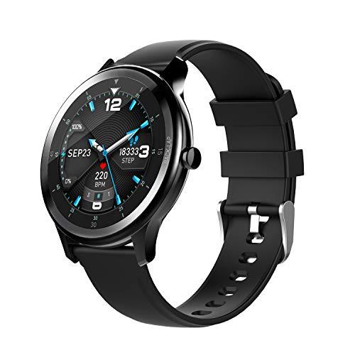 OGEDA Fashion Smartwatch Fitness Tracker a schermo intero IP68 impermeabile Sport Fitness Watch con cardiofrequenzimetro Sleep Monitor passo passo Calorie Counter orologio da polso intelligente per uo