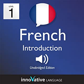 Learn French - Level 1: Introduction to French, Volume 1: Lessons 1-25 cover art