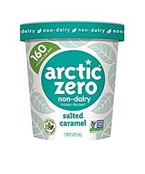Arctic Zero Non-Dairy Desserts, Salted Caramel, 16 oz (Frozen)