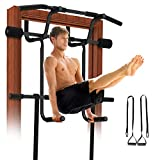 REDLIRO Pull Up Door Bar for Home Chin-Up Doorway Strength Training with Dip bar Multi Gym Pro...