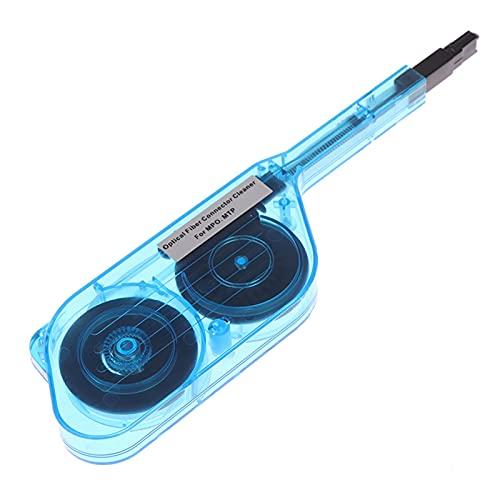 ZYTANG Limpiador de Conector de Fibra óptica MPO MTP Herramienta de Limpieza de Fibra óptica 600 Limpilidades
