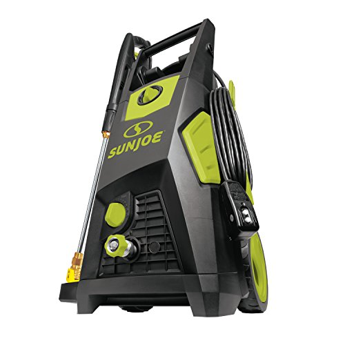Sun Joe SPX3500 2300 Max Psi 1.48 Gpm Brushless Induction Electric Pressure Washer, w/Brass Hose...
