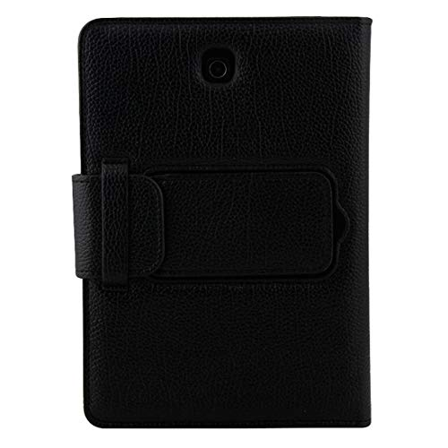 Xyamzhnn HNZZ Phone Case For Galaxy Tab S2 8.0 T710 / T715 2 in 1 Detachable Bluetooth Keyboard Litchi Texture Leather Case with Holder (Color : Black)