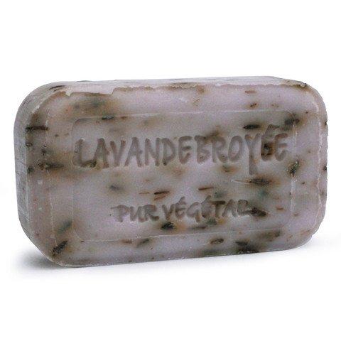 Seife Savon de Marseille Lavendel Lavendelseife aus der Provence mit gemahlenen Lavendelstückchen der Savonnerie de Bormes Lavande broyée