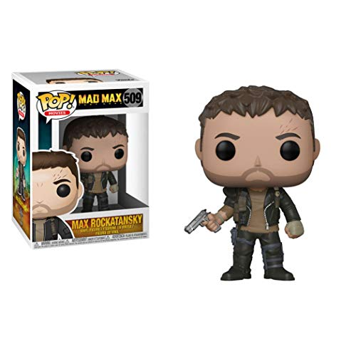 Funko Pop! Movies: Mad Max Fury Road Max with Gun Collectible Figure