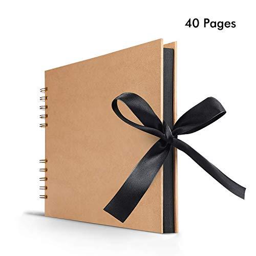 BESTOYARD Scrapbook Album Fotoalbum Kraftpapier Hardcover 36 Seite f/ür Graduierung Geburtstag Hochzeit