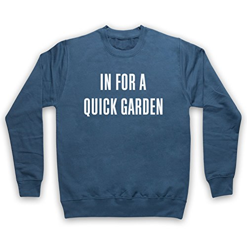 The Guns Of Brixton LED Zeppelin in for A Quick Garden Fanedit Concert Sweat-Shirt des Adultes, Airforce Bleu, 2XL