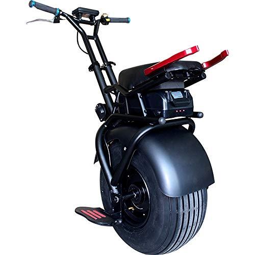Angelay-Tian Mini transportador eléctrico autoequilibrado de 60v 1000w con Potente Motor y Ruedas de iluminación LED, Adecuado para Adultos y niños