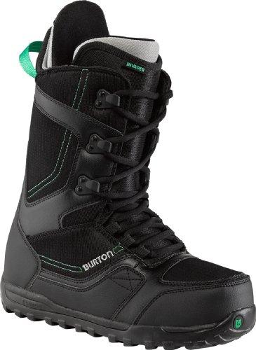 Burton Herren Snowboardschuhe Snowboard Boots Invader, black/gray 44.5 EU 10.5 UK 10651100