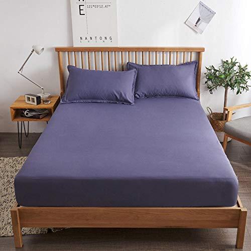 B/H Boxspringbett Spannbettlaken,rutschfeste Bettwäsche aus Baumwolle, Simmons Schutzhülle-E_100 * 200cm,Gute Qualität Bettlaken