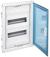 Legrand LEG01531 Coffret encastr/é porte m/étal extra plate 1 rang/ée 12 2 modules Blanc