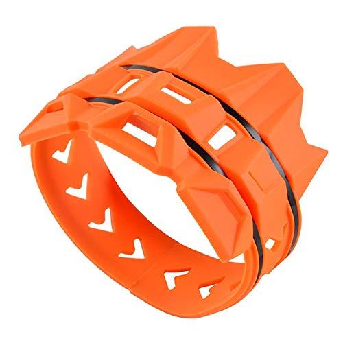 DKEKE Silenciador de Escape Pipe Escudo Protector de la Fit for KTM EXC SX SXF XC XCF EXCF EXCW XCFW 125 200 250 300 350 400 450 525 530 DKEKE (Color : Orange)