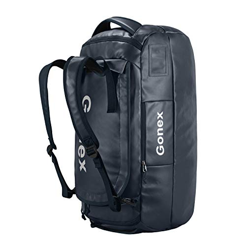 Gonex 60L Waterproof Duffle Holdall Bag Backpack Convertible Packable Travel Bag Duffel...