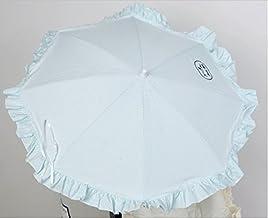 Sombrilla para silla de paseo + flexo universal. Parasol rayas verde