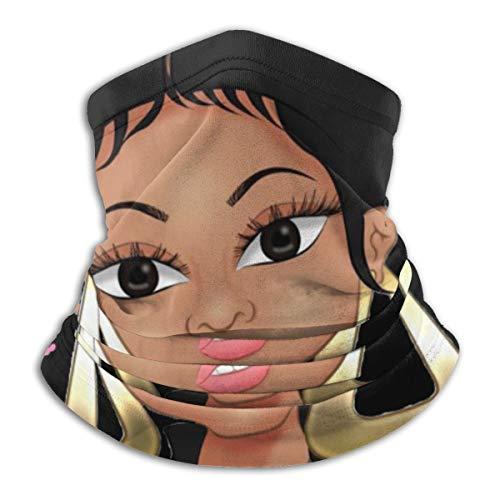 Danielleicholson Neck Warmer Gaiters Haarband Nicki Minaj Cartoon Sturmhaube Nasenschlauchschal Mütze Stirnband Thermische Multifunktionale Kopfbedeckung Für Männer Und Frauen