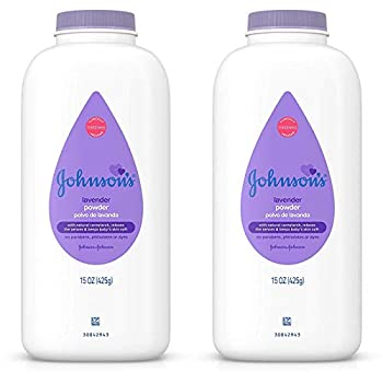 Johnsons Baby Powder Calming Lavender 15 Ounce  443ml   2 Pack