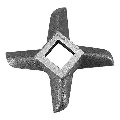 Silber Kreuz geformte professionelle Küche Fleischwolf Klinge Fischmühle, Standmixer Ersatzteil (# 8)