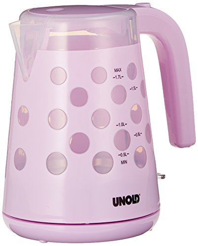 Unold 18544 Flash electrica Pastello malva, 1.7 L, 2200 W, color blanco